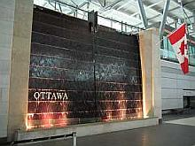 Waterproofing at the Ottawa Airport Fountain