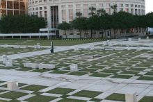 Plaza/Green Roofing at Kiley Park, Tampa