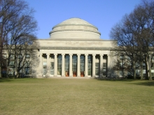 Waterproofing installation at the MIT Dome
