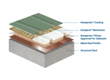 Kemper System Liquid Applied Resin Membranes For Metal Roofs